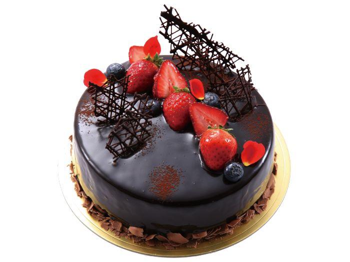 ロゼ・ノワール チェリーとチョコレートのムース